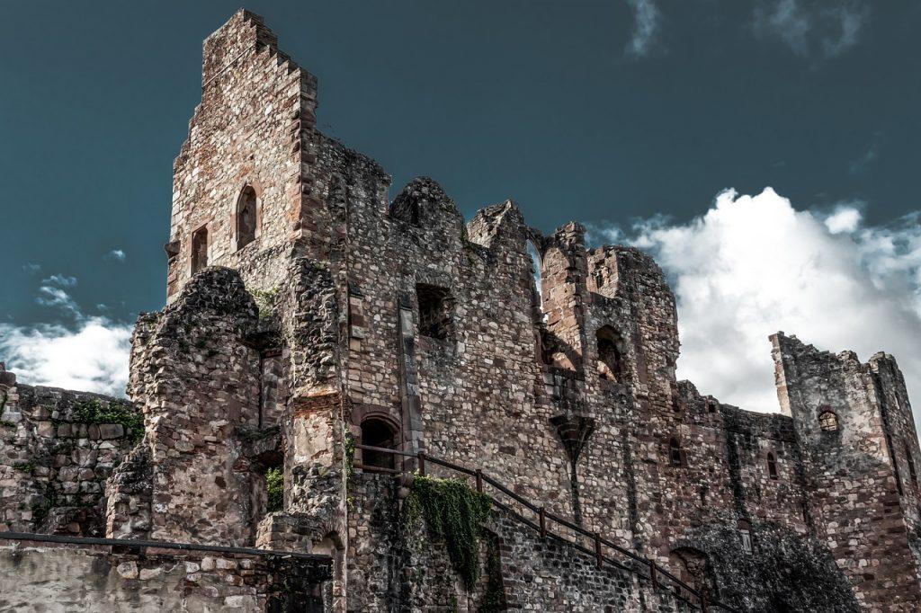 ruin, castle, burgruine