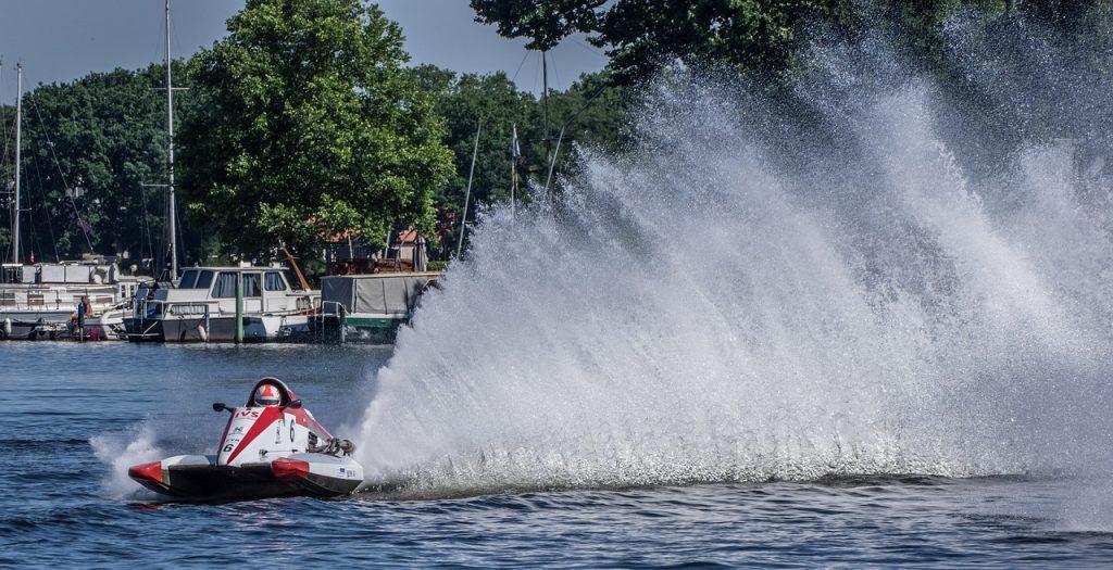 motor boat race, water sports, motorsport