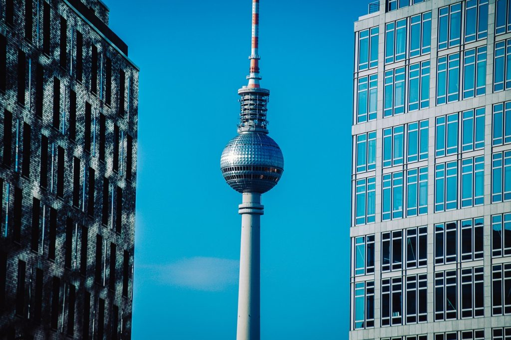 berlin, tv tower, architecture