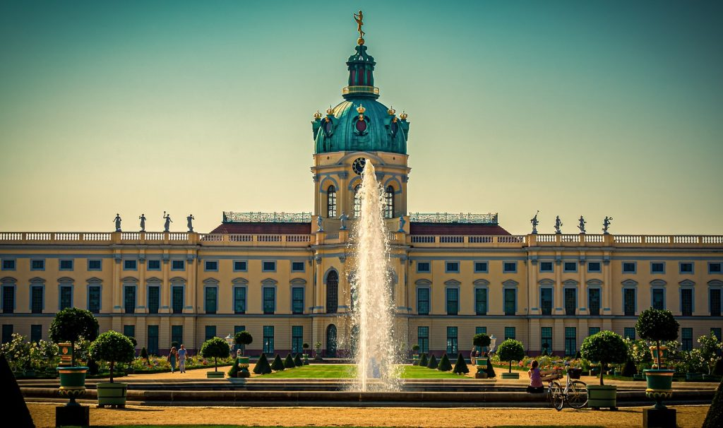 castle, schlossgarten, castle park