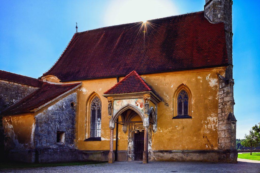 church, middle ages, burghausen