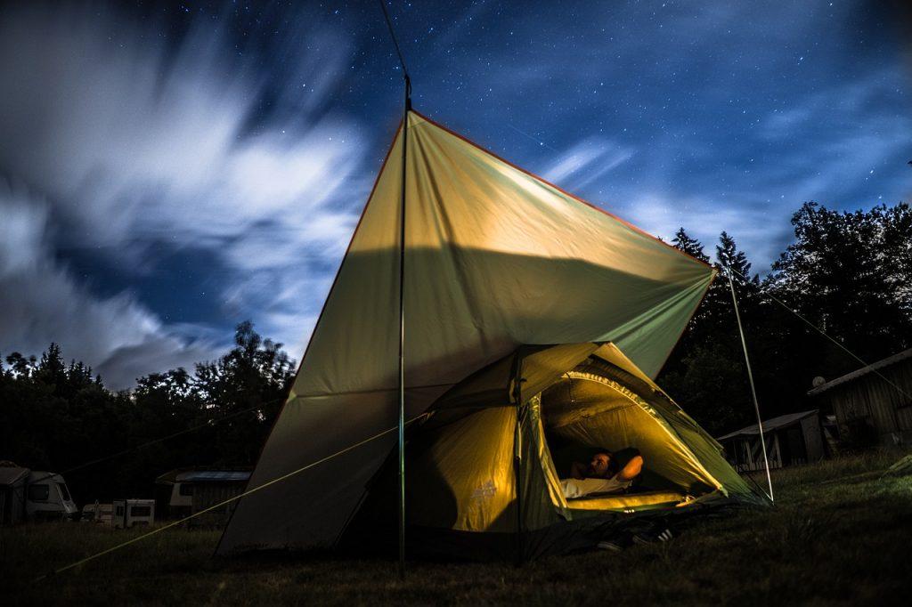 camp, camping, nature
