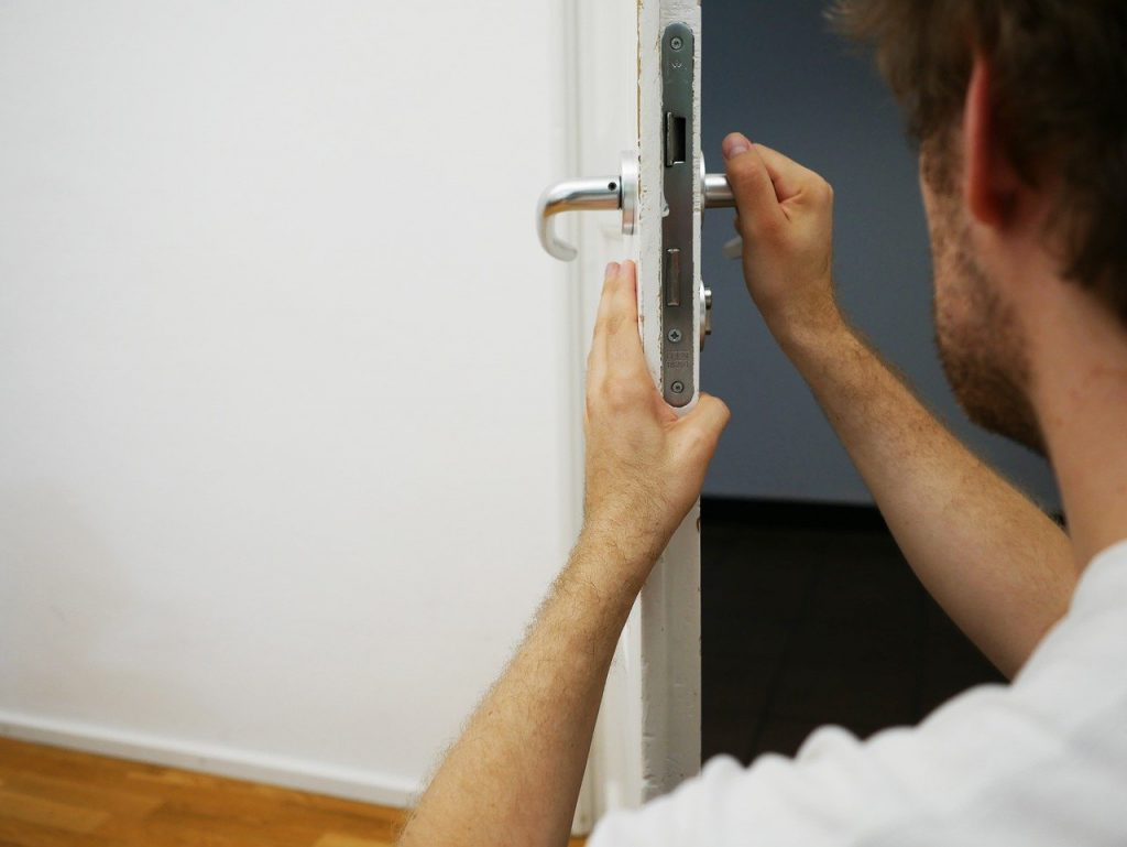 key service, door lock, capping