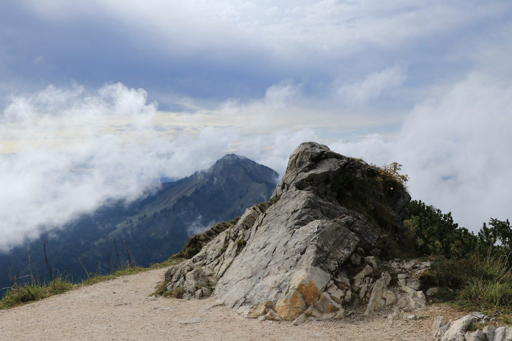 mountains, mountain, rocks