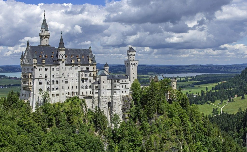 castle, architecture, landmark