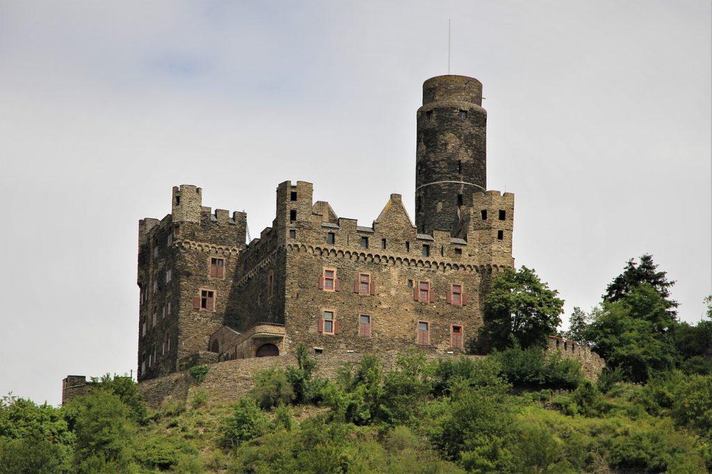 maus castle, architecture, germany
