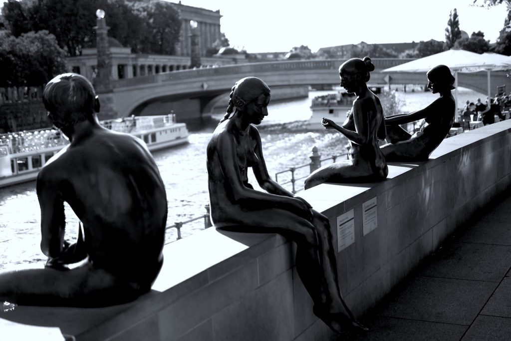 berlin, statues, sculpture