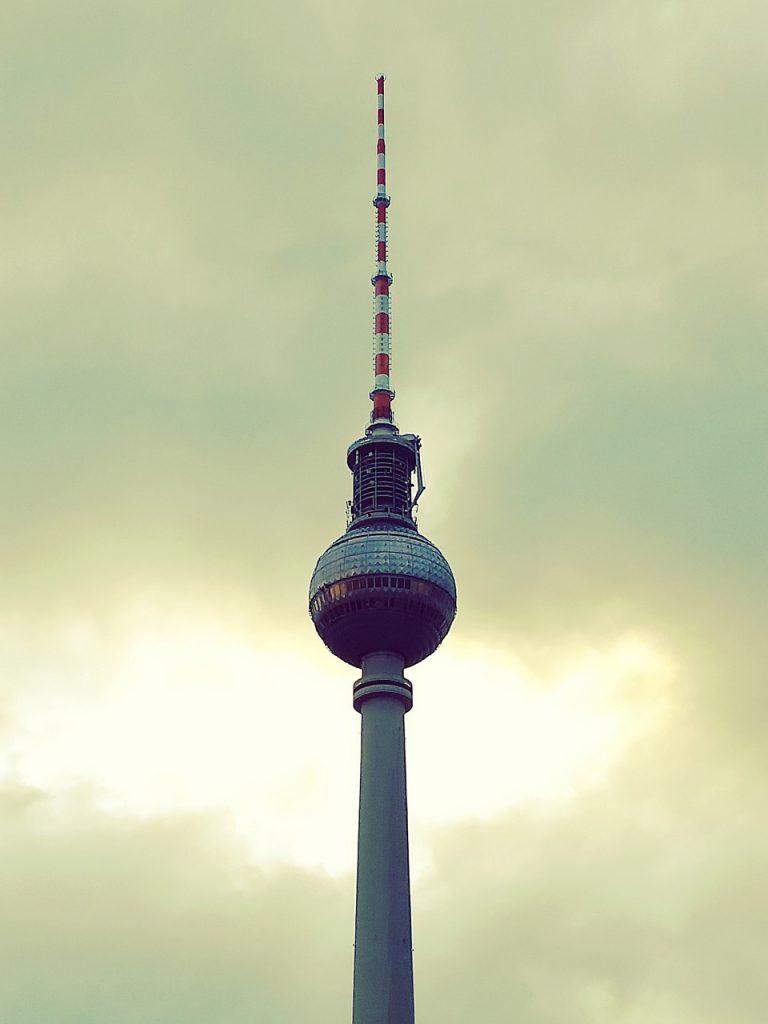 berlin, tv tower, capital