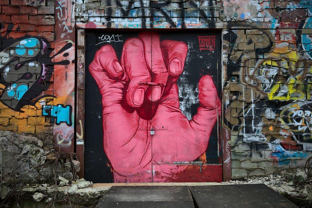 grafitti, berlin, teufelsberg