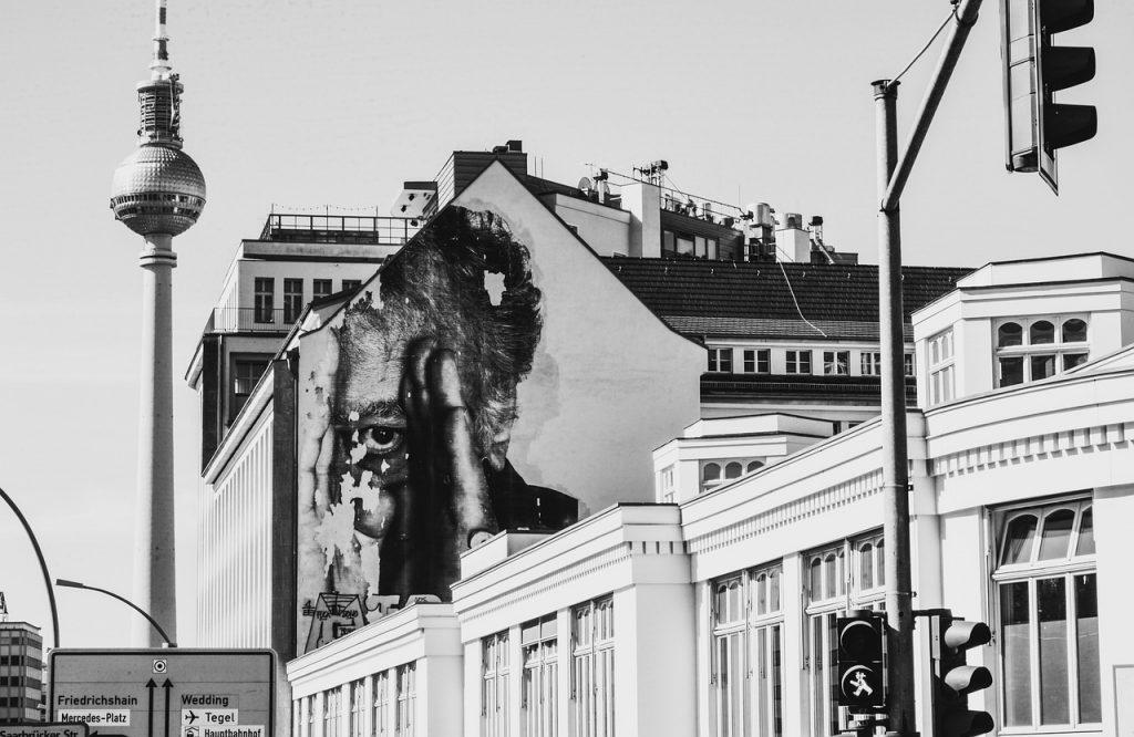 berlin, city, houses