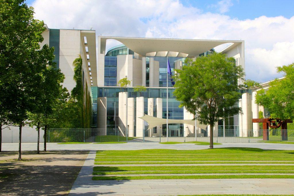 berlin, chancellery, space
