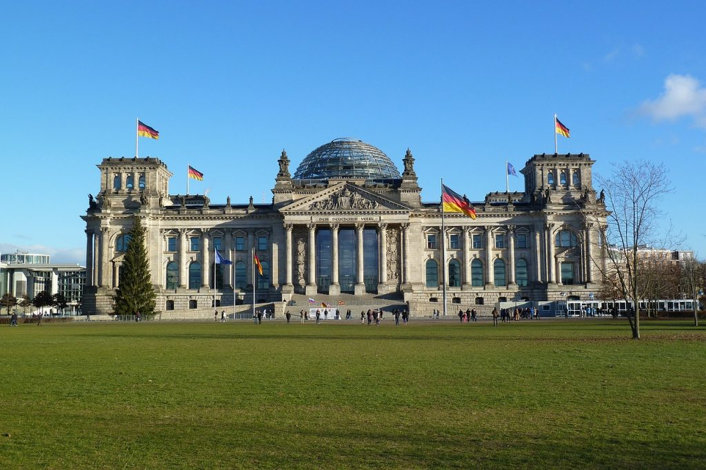 reichstag building, berlin, capital