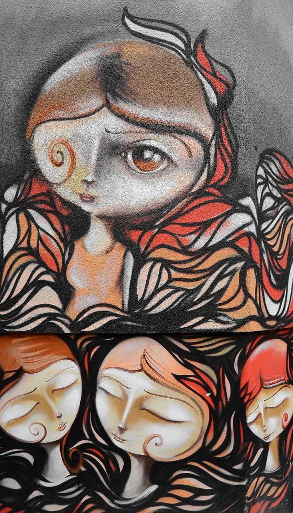 graffiti, street art, urban art