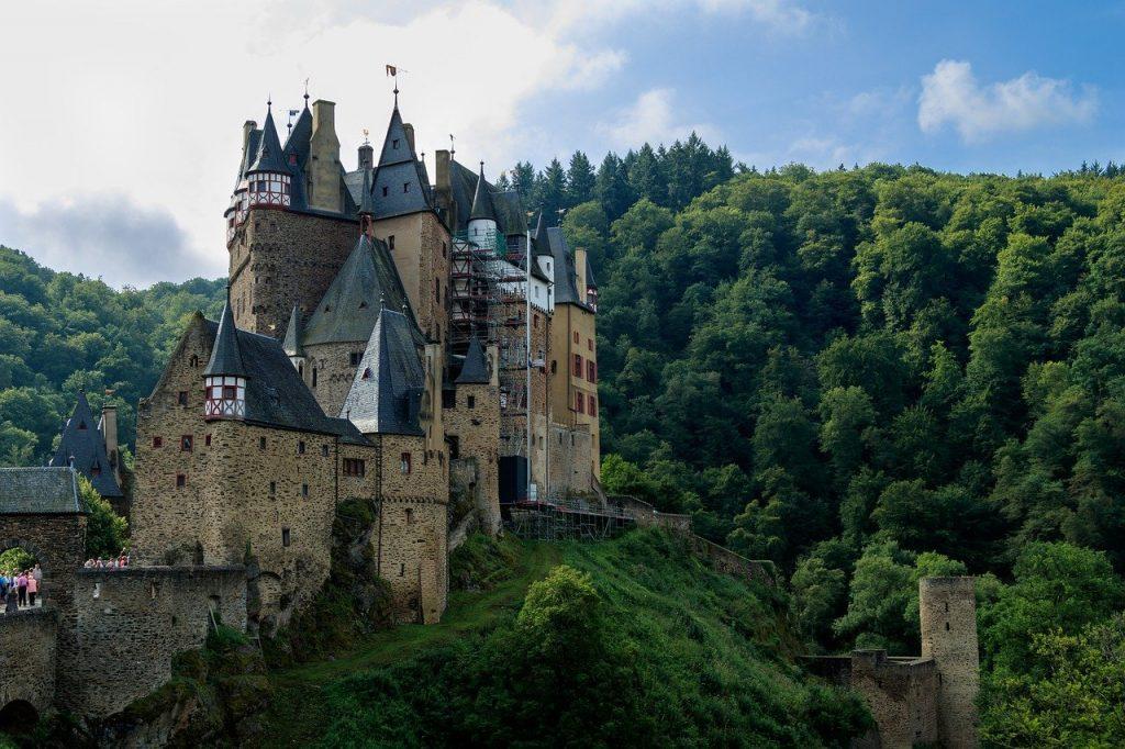 castle, burg eltz, middle ages