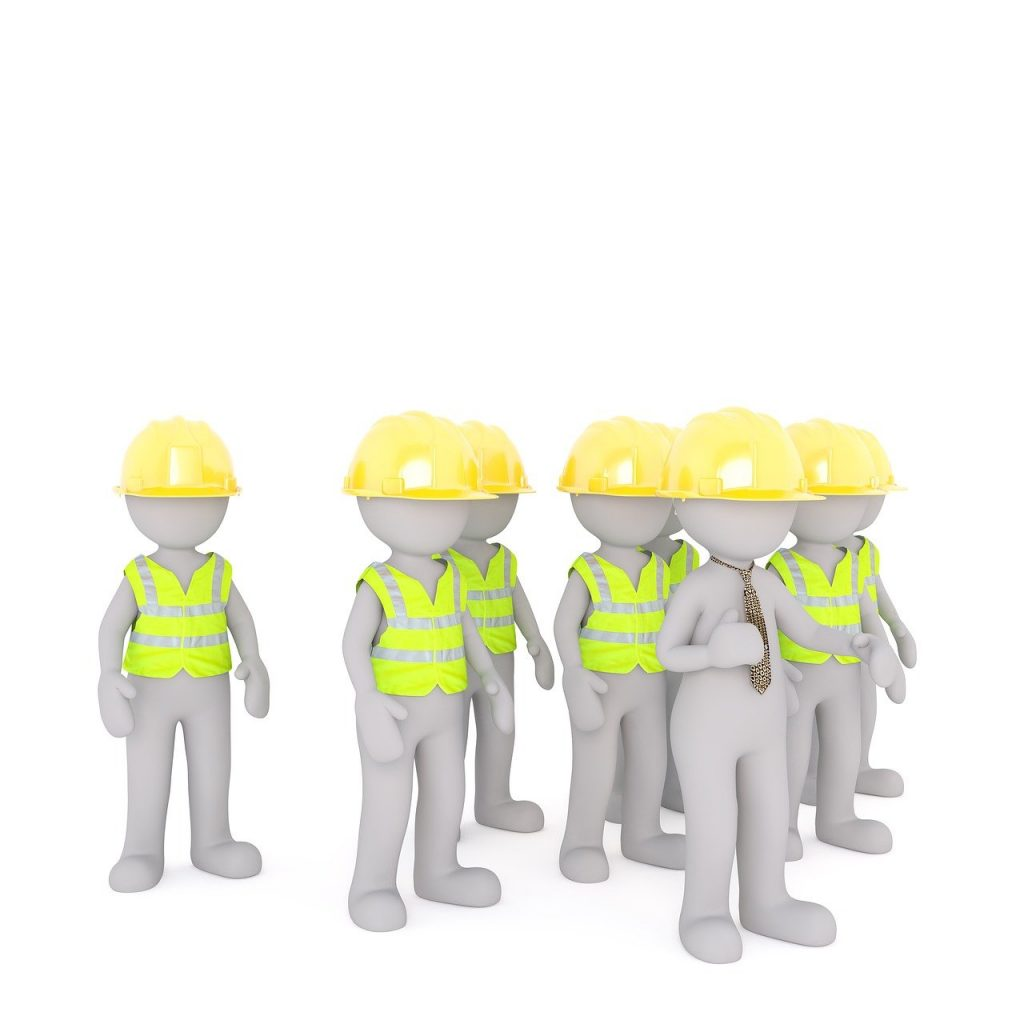 construction workers, black workers, workers