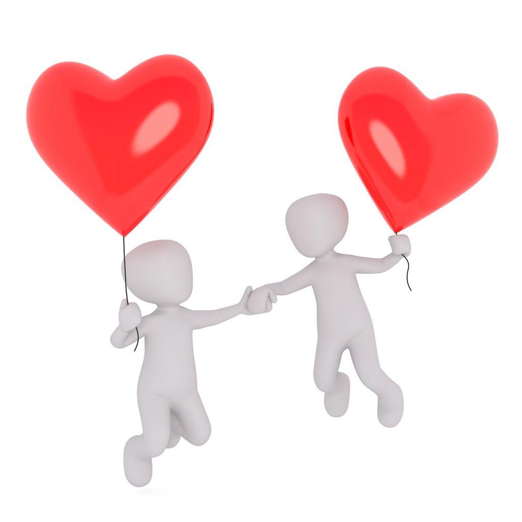 heart, love, lovers