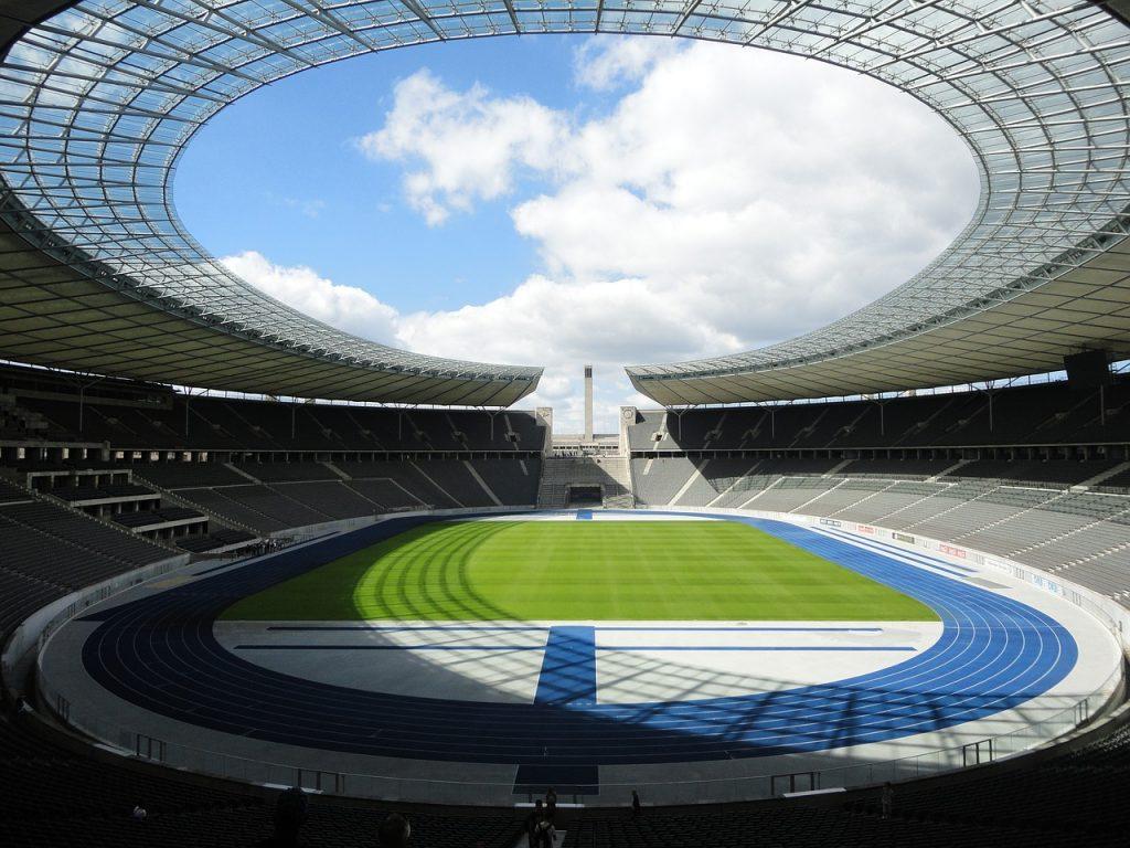 stadium, main grandstand, grandstand