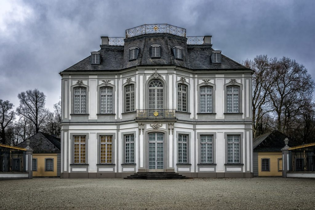 castle, baroque, rococo