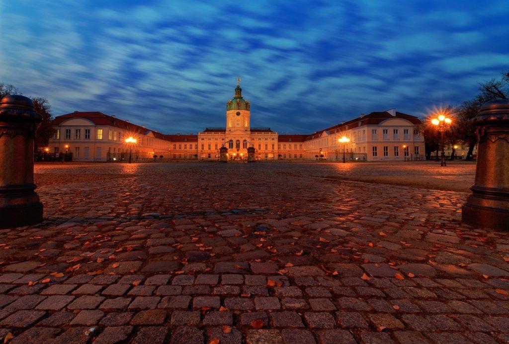 berlin, castle, places of interest