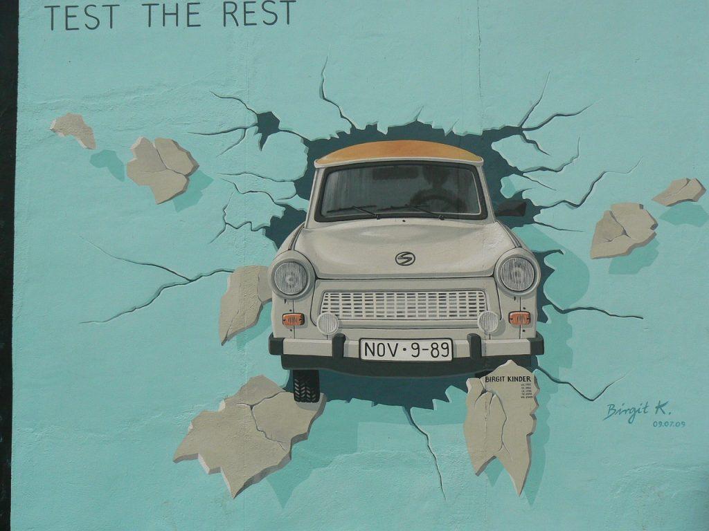 wall, berlin, art