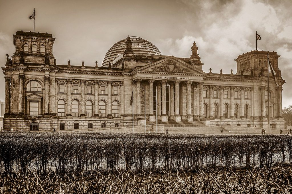 berlin, reichstag, government buildings