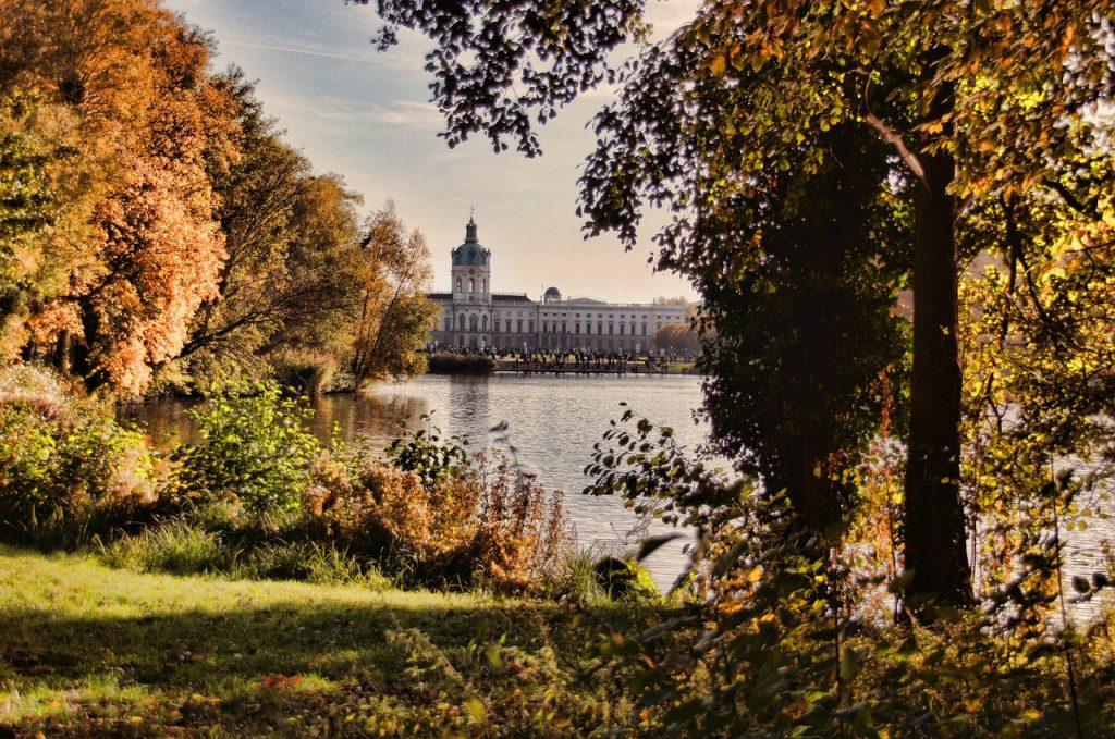 castle charlottenburg, castle park, berlin