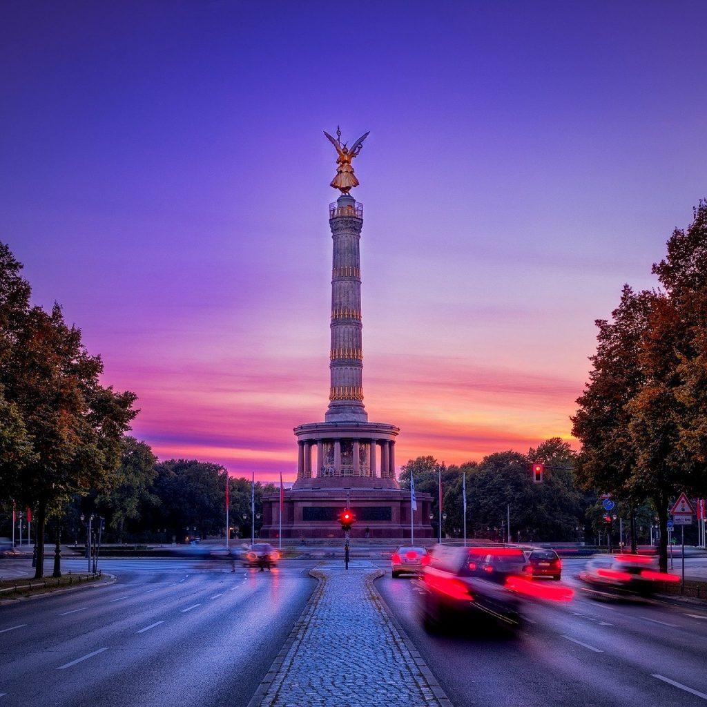 siegessäule, berlin, capital