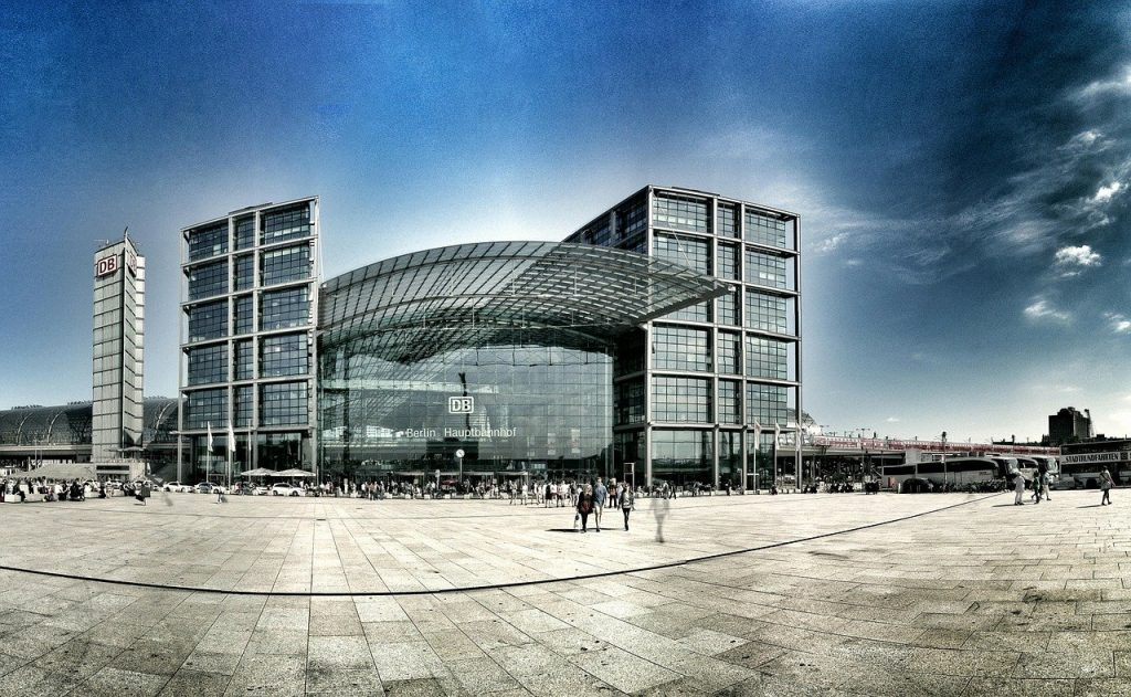 berlin, germany, central station