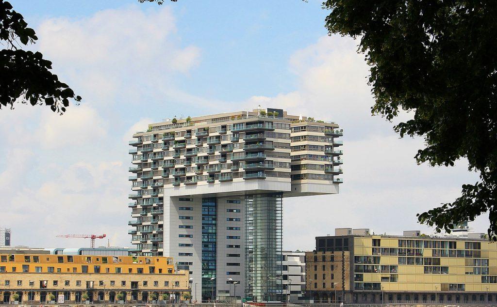kranhaus, architecture, cologne