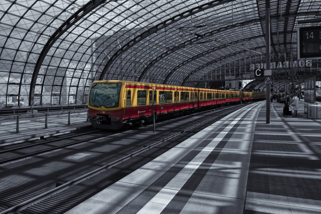 berlin, central station, railway station