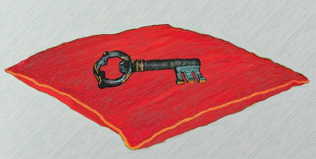 key, door, security