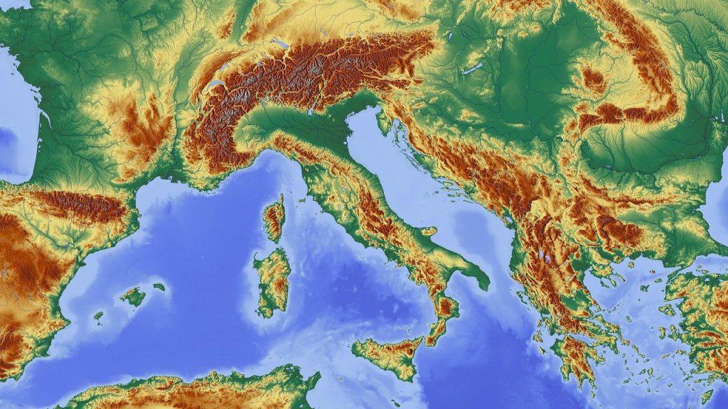 italy, alpine, alpine region