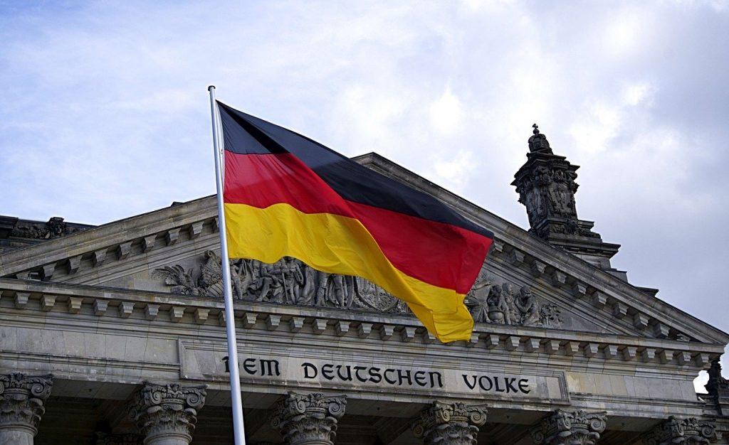 berlin, flag, germany