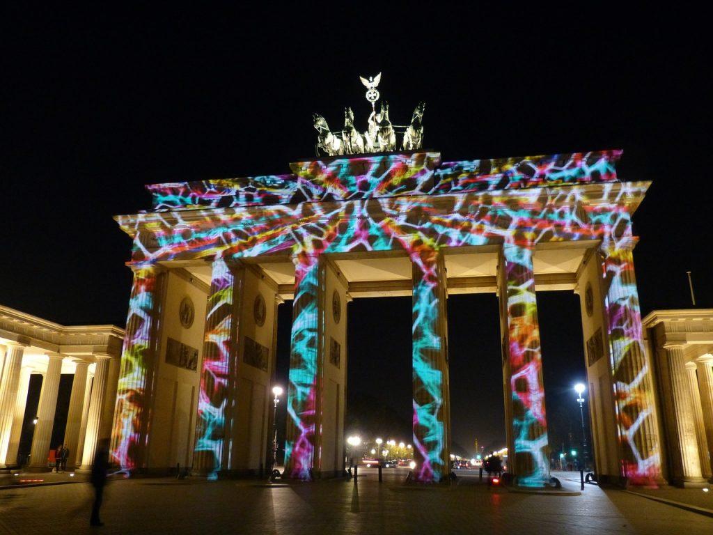 berlin, facade, tungsten