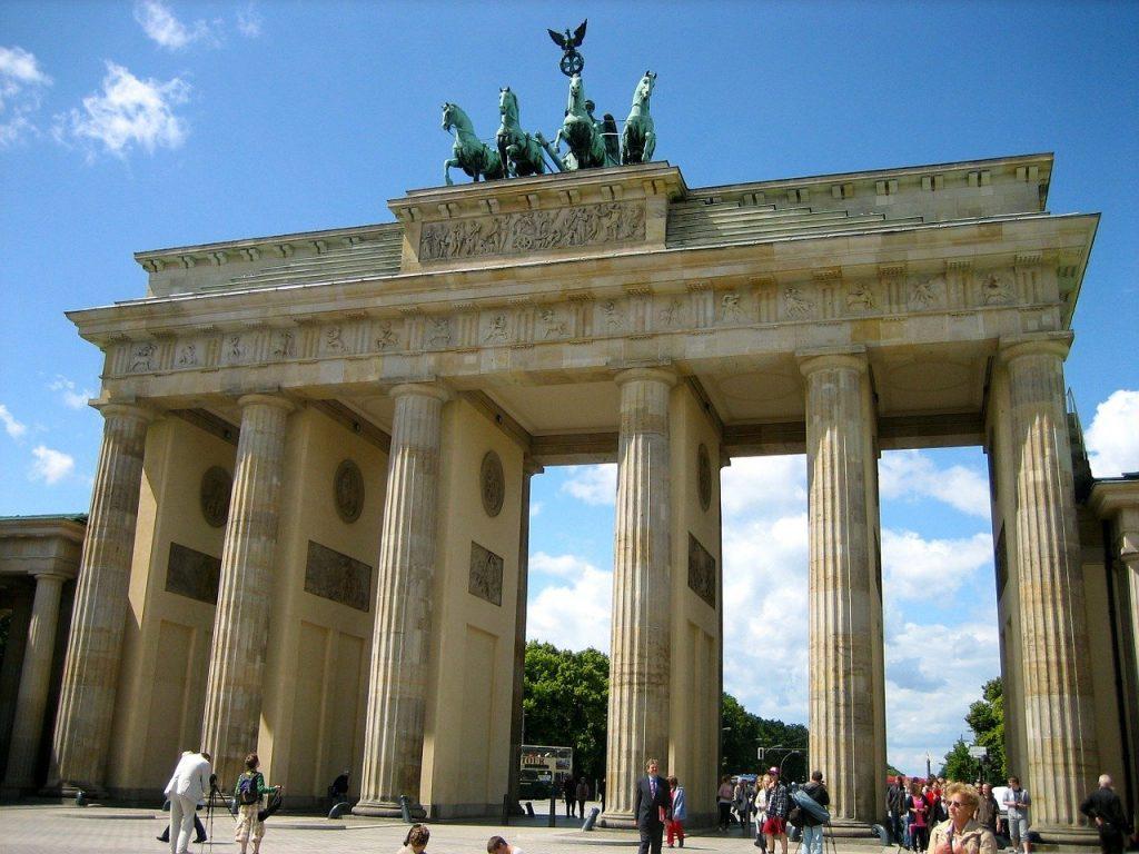 brandenburg gate, berlin, landmark